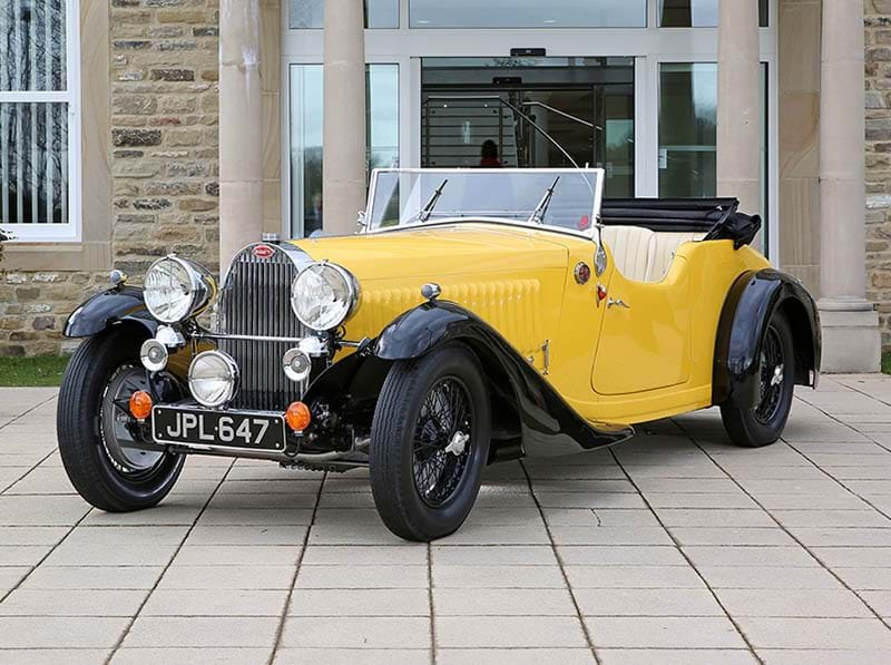 Rare 1935 Bugatti Type 57 'Grand Raid' Tourer up for auction