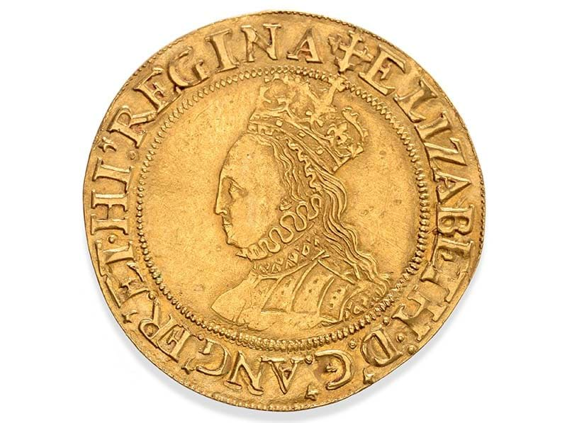 The Golden Queen – Elizabethan Coin Shines at Auction