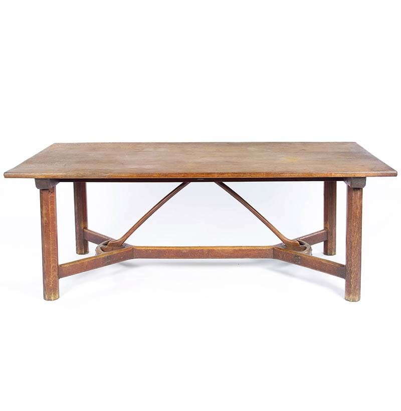 An Oak Refectory Table, by Sidney/Edward Barnsley, c.1905-15