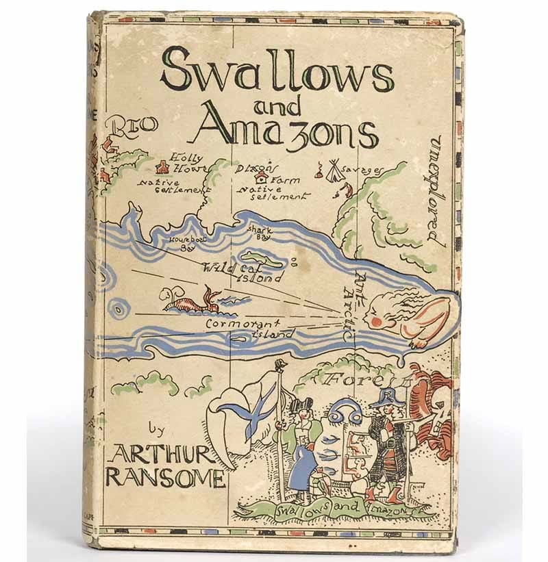 Ransome (Arthur) Swallows & Amazons, 1930, Cape, first edition