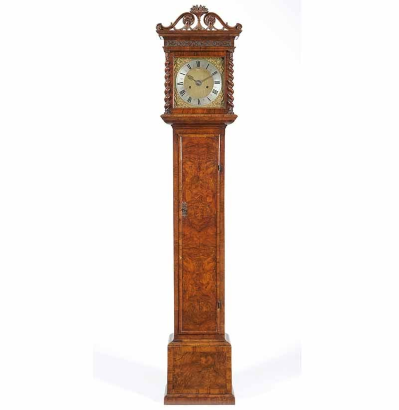 A Late 17th Century Walnut Small Eight Day Longcase Clock, Signed Joseph Knibb, London, c1690