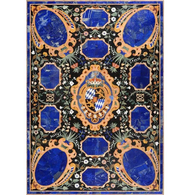 An Extremely Fine Florentine Pietra Dura Table Top