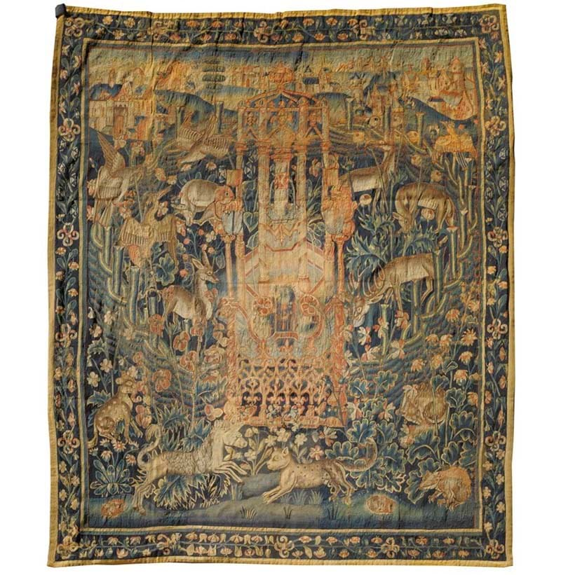 A Fine 16th Century Flemish Tapestry
