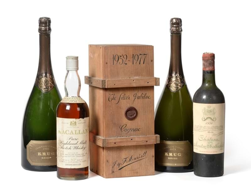Rare Bottles of Wine & Whisky