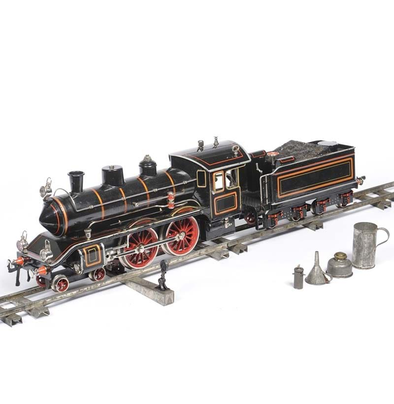 "A Fine Quality Bing Gauge ""1"" Live Steam 4-4-0 Locomotive and Tender"