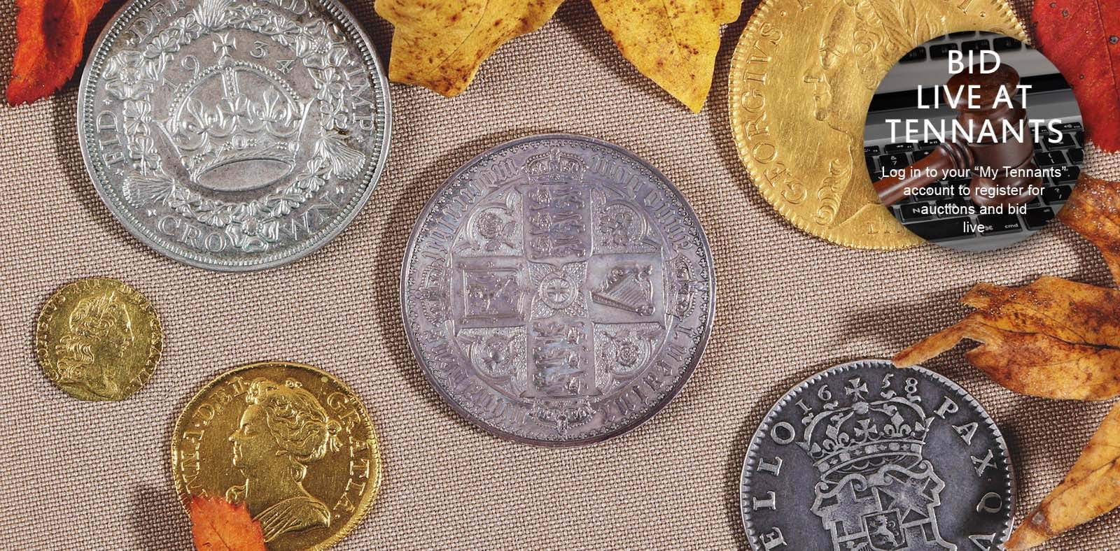Coins & Banknotes Banner Image