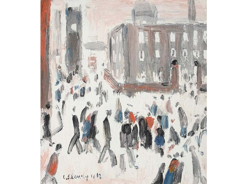 L S Lowry at Tennants