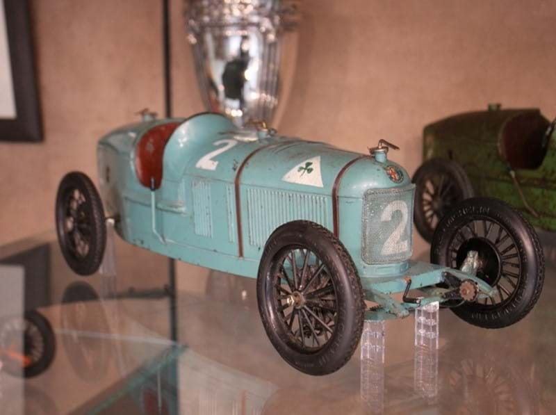Loan Display: Rare CIJ Alfa Romeo P2 Toy Cars