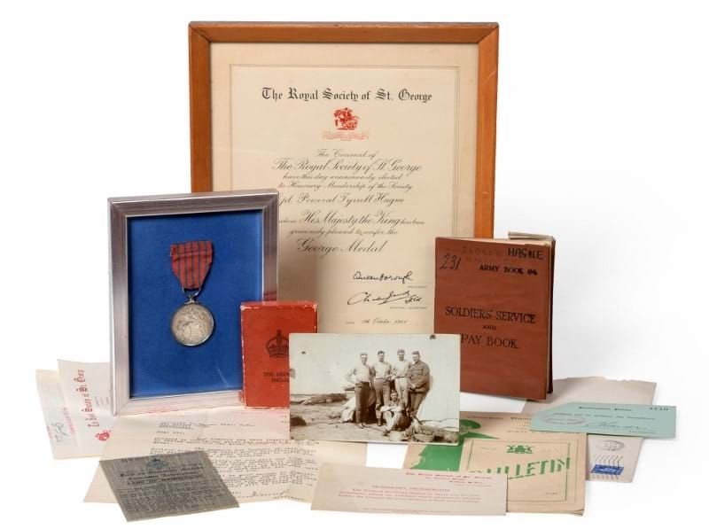 Medals Shine in Militaria Sale