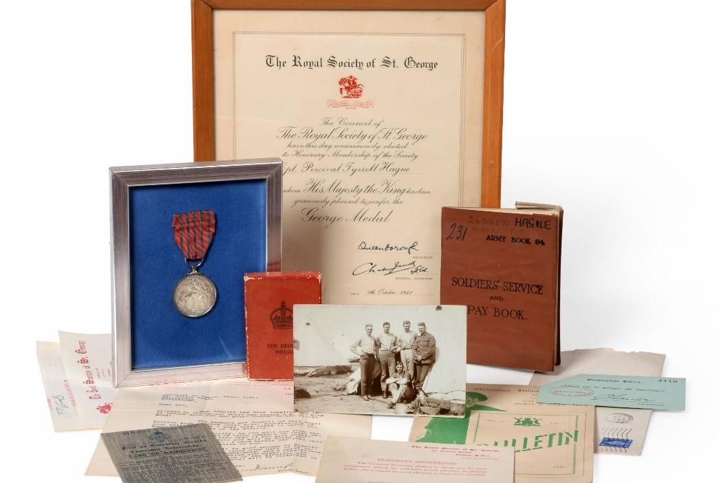 Medals Shine in Militaria Sale | Tennants Auctioneers
