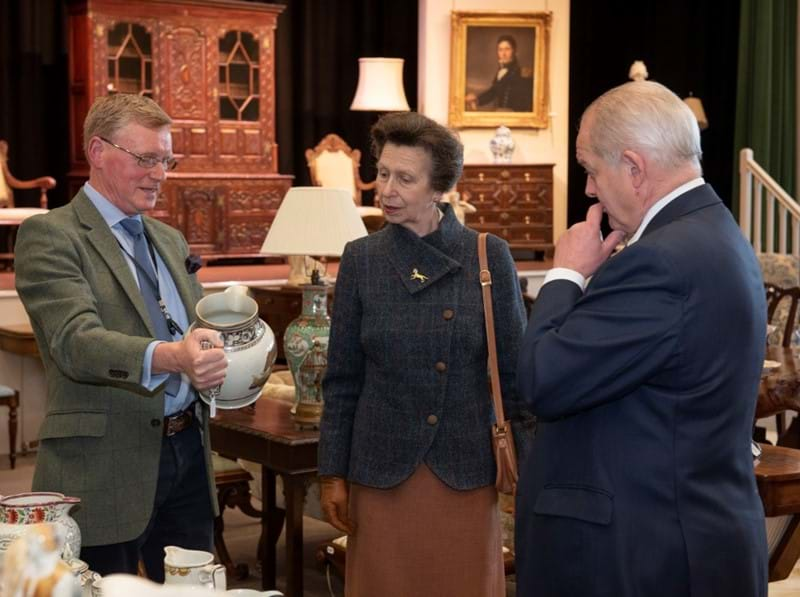 The Princess Royal Visits Tennants Image