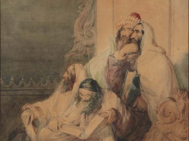 A Significant Painting by Prominent Jewish Artist Sells to London Museum
