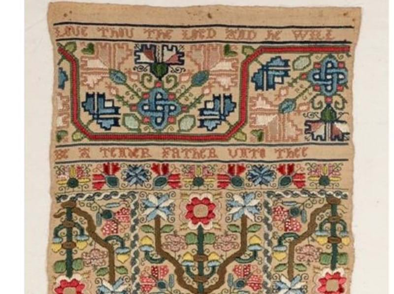 Antique Samplers at Auction