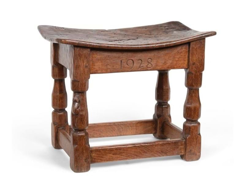 Rare Early Mouseman Furniture