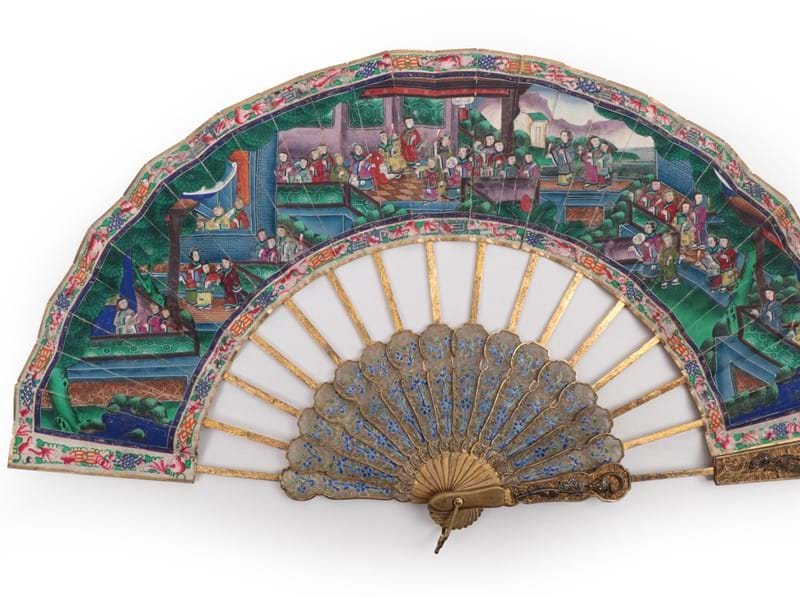 Rare Chinese Fan Sells for £5,000
