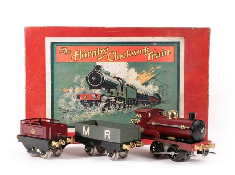 Rare Early Hornby Train Set Comes to Auction in Hornby's Centenary Year