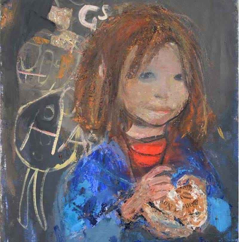 Girl with chips