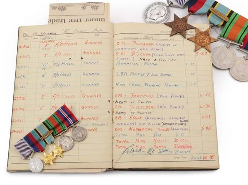 Wartime Memorabilia and Medals Under the Hammer