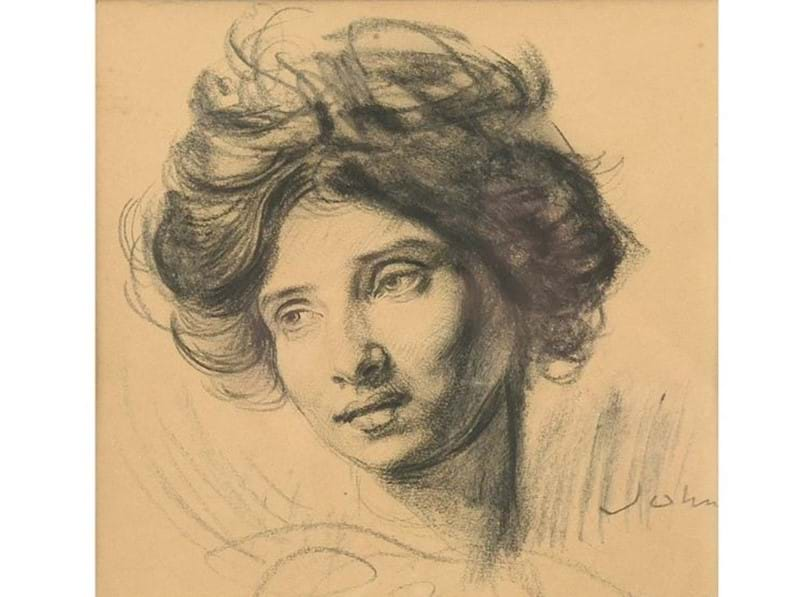 Newly Discovered Augustus John Drawing
